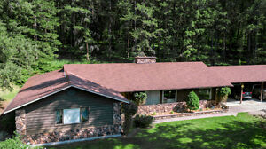 143 Brookfield Road, Lumby - Privacy GALORE on 78 acres