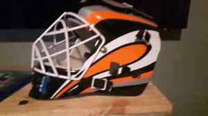 Casque de gardien de hockey