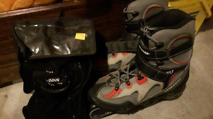 Koho Inline Skates and Pads