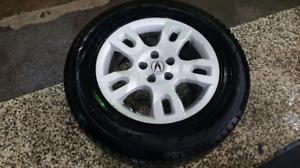 """MAG 17"""" avec pneus utilisés un mois seulement"""
