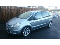 Ford S max 7 seater people carrier sport alloys