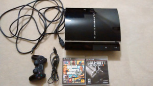 Sony PS 3 + Games + Controller