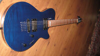 ==GODIN  LG SIGNATURE - HIGHLY FIGURED AAA FLAMED MAPLE TOP==