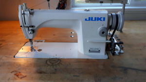 **JUKI straight stitch heavy duty sewing machine**