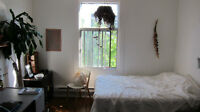 Beautiful sunny sublet room in Mile End for July $450