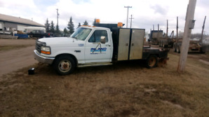1995 Ford F350 welding truck