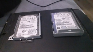 Two - Laptop Hard Drives