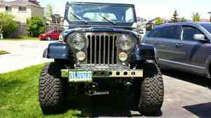 JEEP CJ7 - FOR TRADE ONLY