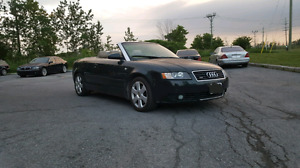 2005 AUDI A4 CONVERTIBLE. 3.0L V6. QUATTRO. SAFETIED AND ETESTED