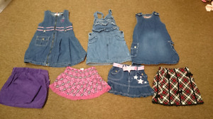 Size 3T skirts and dresses