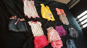 Baby girls clothing 12-24months