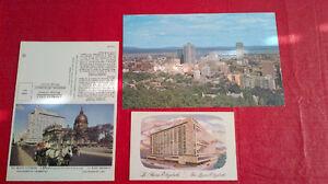 Postcards - Queen Elizabeth Hotel, Montreal Kitchener / Waterloo Kitchener Area image 1