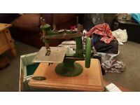 Antique grain sewing machine