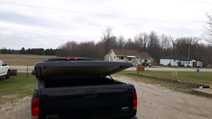 Ford F150 fibreglass tonneau cover REDUCED