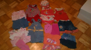 Lot vêtements 6 mois fille