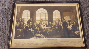 Fathers of confederation print