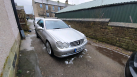 Mercedes clk 2.7 diesel auto swap for a van/camper