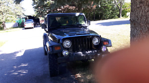 1999 jeep tj manual 4x4 4.0 let's go!
