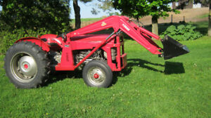 Massey Ferguson tractor 135 with loader