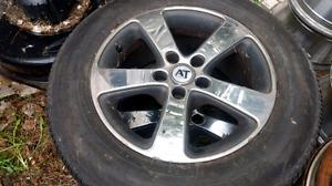 Mag 16 pouce 150$ nego pneu fini