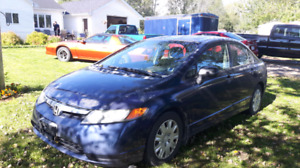 2006 Honda civic 5spd only 202xxxkms!