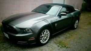 2013 Mustang V6 convertible