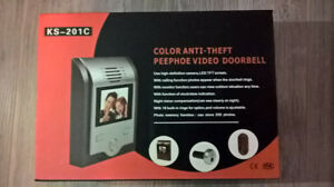Liquidation - Anti-Theft Video Doorbell (Silver)