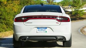 2015-2017 Dodge Charger SXT and RT Rear Valence