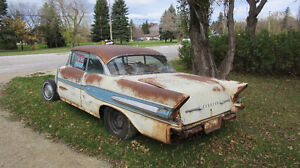 1957 Pontiac Other white/blue Coupe (2 door) Price Reduced !!!!