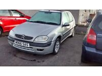Citroen saxo vtr 1.6 sale or swap