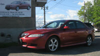 2004 MAZDA6 AUTO, LOADED, GREAT DEAL, SAFETY+6M.WRTY for $4888