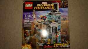 Attack on Avenger's Tower Lego set 76038