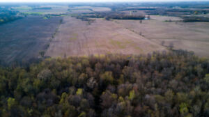 50.18-acre farm, woodlot - build your private home and getaway