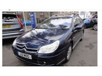 CITROEN C5 VTR 2.2 HDi DIESEL AUTOMATIC - ONLY 1 FORMER KEEPER - LONG MOT -FREE DELIVERY-P/X WELCOME