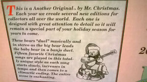 Mr, Christmas Animated Musical Duelling Banjo Bears Windsor Region Ontario image 6