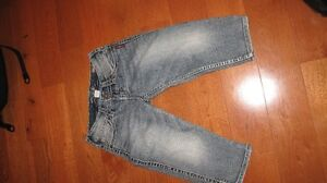 Womens Silver capris size 26 (wore twice)