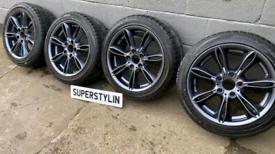 BMW Z4/3 series alloy wheels 225/45/17