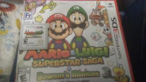 Mario and Luigi SuperStar Saga 3ds