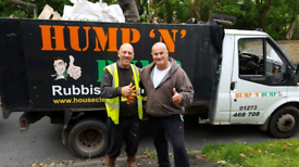 Hump N Dump Rubbish Clearance 01273 468 708