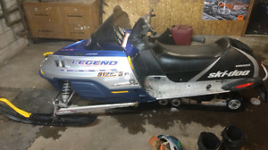 2002 ski doo 600 legend 1800 if gone this weekend