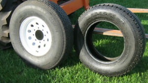 8-bolt  rim -industrial,cargo or horse trailer