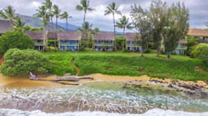 BEST PRICED OCEANFRONT CONDO WITH KITCHEN ON KAUAI