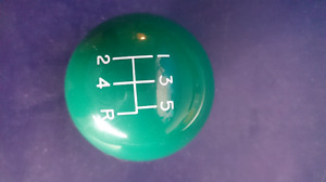 Green shift knob