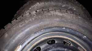Four matching  Champiro Ice Pro studded winter tires Prince George British Columbia image 2