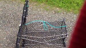 2 Stainless Steel Collapsable Crab Traps