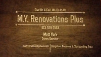 M.Y. Renovations Plus