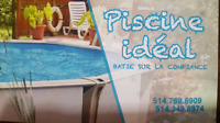 *** PISCINE IDEAL*** prix fin de saisons
