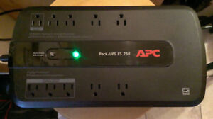APC Power Saving BackUP 750VA, 10 outlet, 120V Power Bar