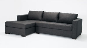 Grey EQ3 Porter Sectional - Great Condition