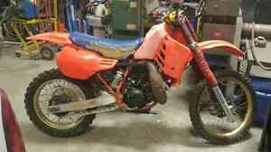 Looking for a parts bike 1986 cr250r/125